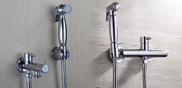 Brass Health Faucets - Gun