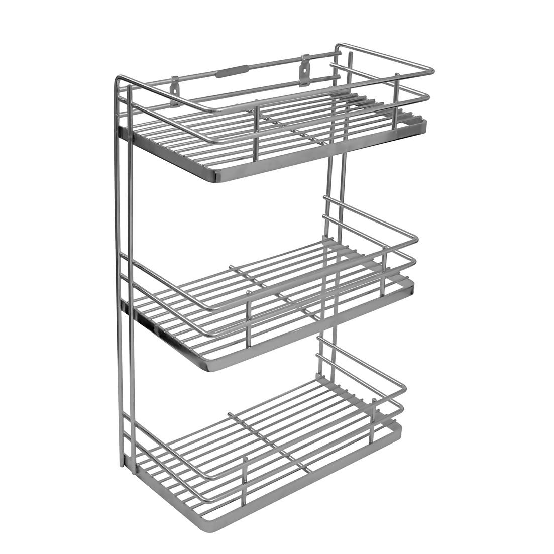 Buy Online Perdiem Triple Front Shelf Spice Rack - Kitchen Basket ...