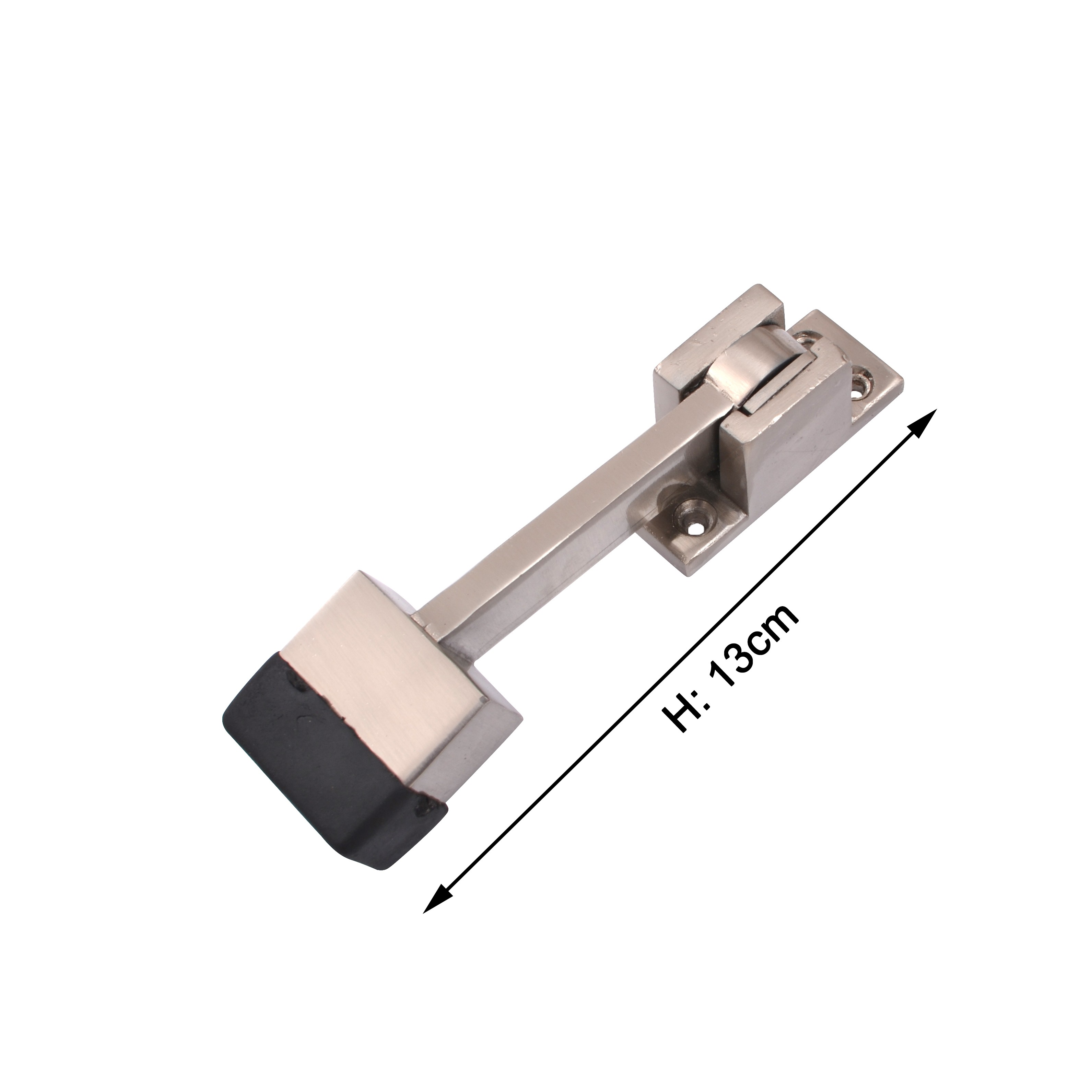 klaxon kbm3 brass door stopper matte