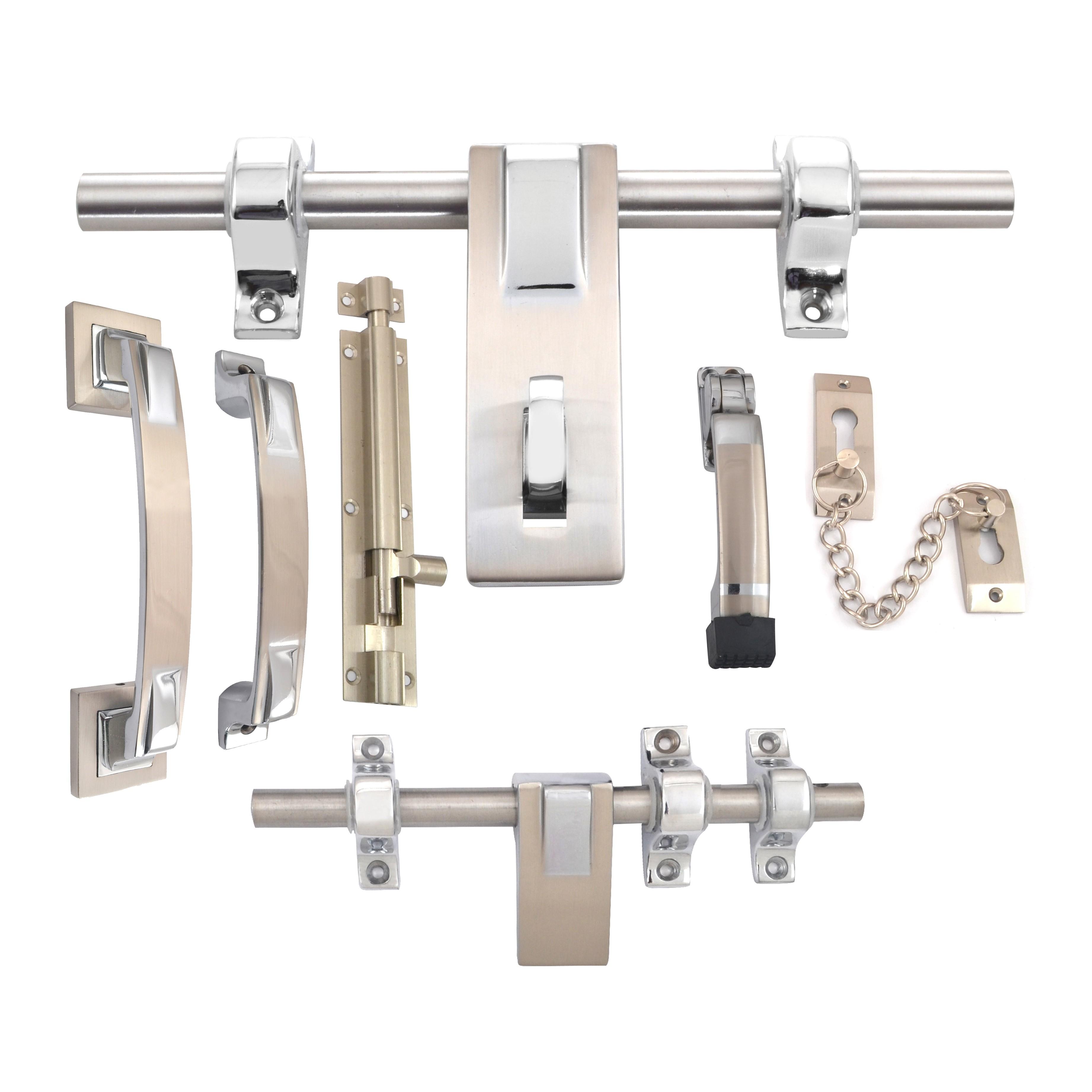 Klaxon Noble Brass Door Accessories Kit (Chrome Finish)  sc 1 st  Krios Direct & Buy Online Klaxon Noble Brass Door Accessories Kit (Chrome Finish)