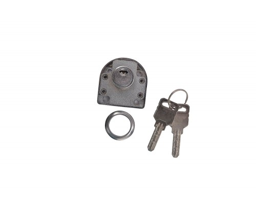 ACS A-238 22MM Steel Multi Drawer Lock & Key (Matte Finish)