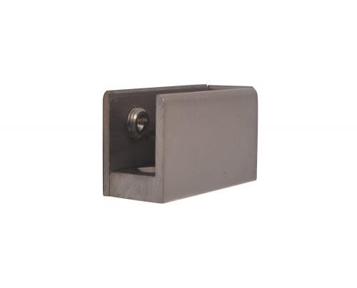 KMP Brass Folding Glass Handle-Bracket (Matte Finish 50*19)