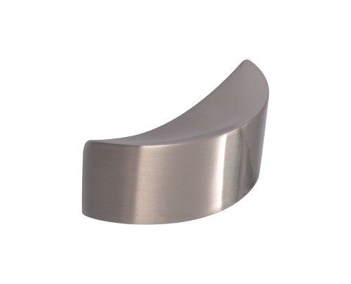 LBC Leno White Metal Door-Cabinet Pull Knob (Matte Finish)