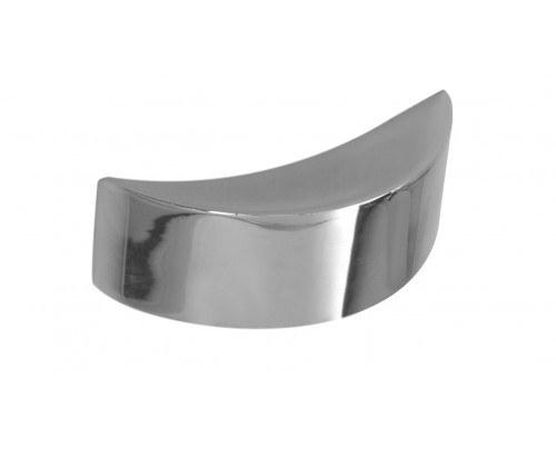 LBC Leno White Metal Door-Cabinet Pull Knob (Chrome Finish)