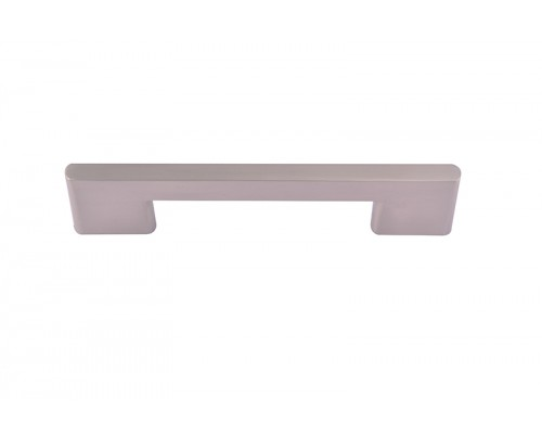 NSC 6027 96MM SS Brass Cabinet-Drawer Pull Handle (Silver Pack of 1)