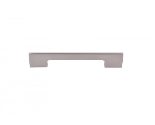NSC 206 096MM SS Brass Cabinet-Drawer Pull Handle (Silver Pack of 1)