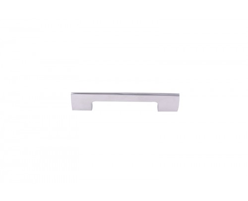 NSC 206 096MM CP Brass Cabinet-Drawer Pull Handle (White Pack of 1)