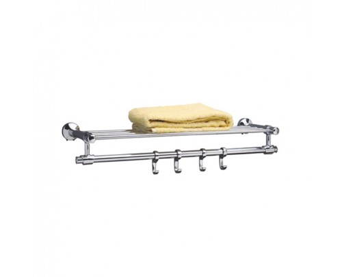 Perk Bathroom Towel Rack - Towel Holder - New Ideal - 600 MM