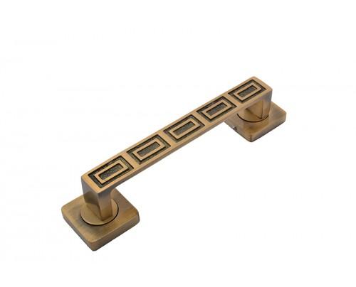 Klaxon Tiger Brass Door Handles