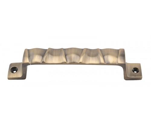 Klaxon ZINQ Brass Door Handle (Antique Finish, 6 Inch)
