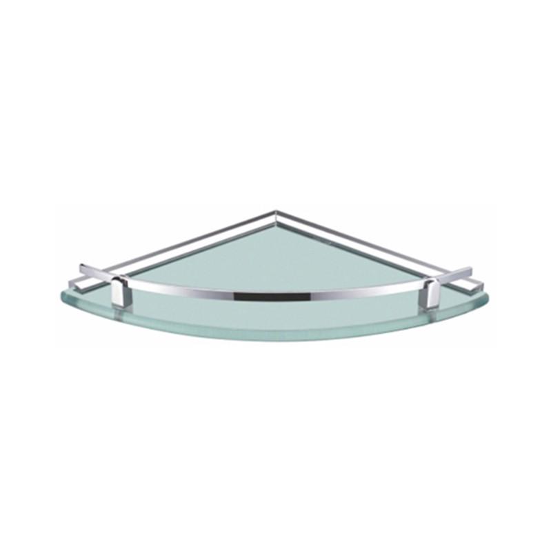 Buy Online Bathroom Corner Glass Shelf - Corner Shelves - 12x12 Inch ...