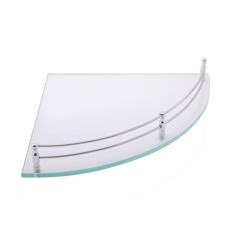 Buy Online Bathroom Corner Glass Shelf - Shelves - 12x12 Pack of 1 ...