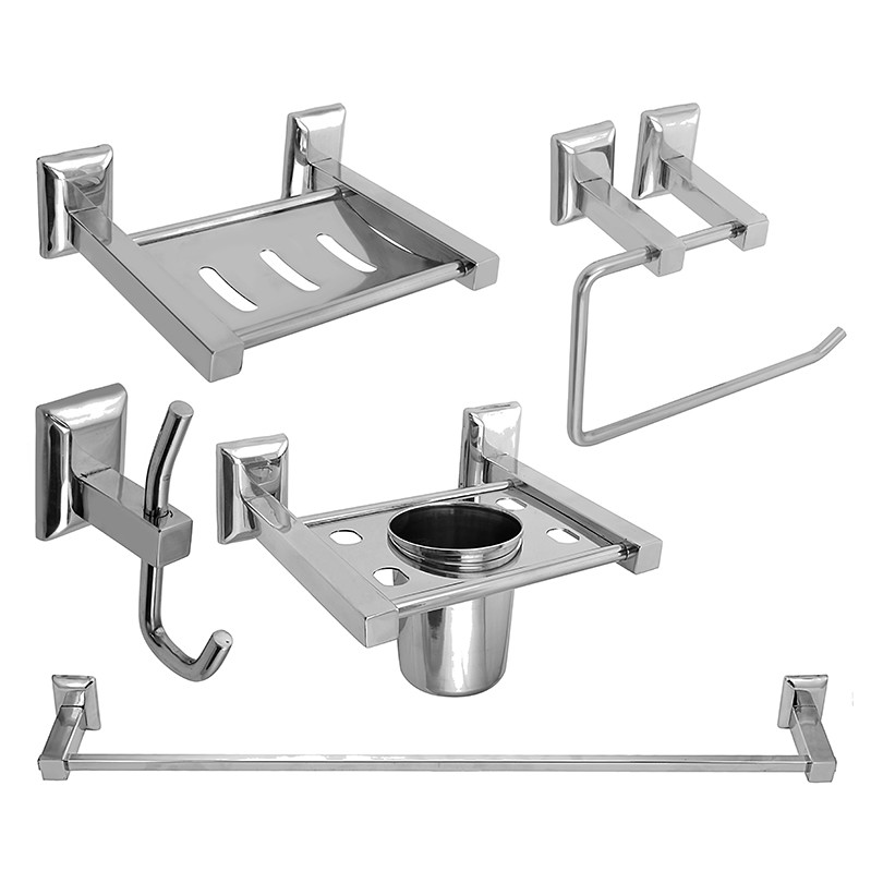 Buy Online Bath Set Bathroom Accessories Set Steel Aquaria