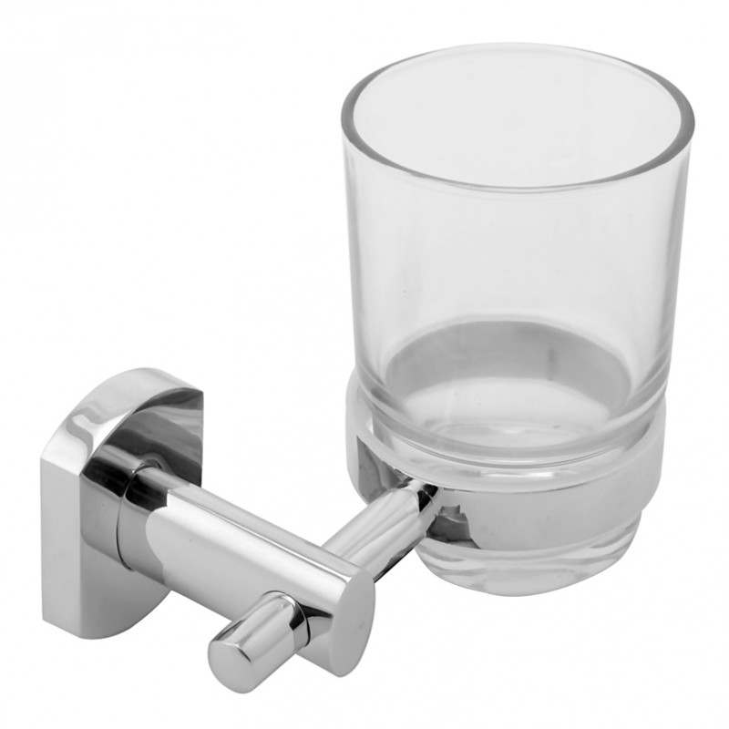 Buy Online Klaxon Alzato Brass Tumbler Holder Toothbrush